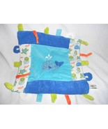 Maison Chic Whale Baby Security Blanket Blue Ocean Sea Life Teether - $27.11