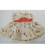 Vintage Dress Taffeta For Medium Size Doll - $10.00
