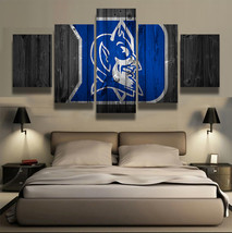 5pcs duke blue devils sports team printed canvas wall art picture home decor  thumb200