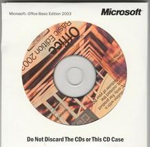 Microsoft Office Basic Edition 2003 - $14.18