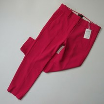 NWT J.Crew Slim Crop Cameron in Bright Rose Pink Four Season Stretch Pan... - $51.99