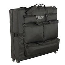Master Massage Universal Wheeled Massage Table Carry Case Bag Portable S... - $84.14