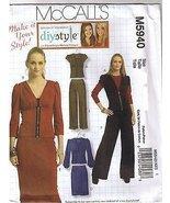 MCCalls sewing pattern m5940 womens top skirts pants size DD 12-14-16-18... - $13.67