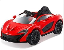 Official SuperCar McLaren Kids Ride on Car Power Wheels with RC, Doors, ... - $374.58