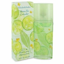 Green Tea Cucumber by Elizabeth Arden Eau De Toilette Spray 3.3 oz for Women - $18.35