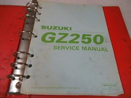 Suzuki 1999 GZ250 Service Manual Binder P/N 99500-32100-03E - $20.32
