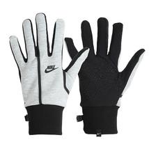 Nike Men's Tech Fleece Running Gloves Touch Screen Glove Gray DC8655-063 - $49.99