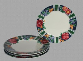 8 Sango MARGAUX Floral Bright Bold Colorful Large Dinner Plates Used DISC \u0026#39; & Sango Dinner Plate: 52 listings