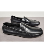 To Boot New York 'Harper' Driving Shoe Black Leather Mens Size 9 - $67.49