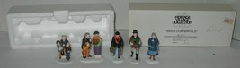 Dept 56 David Copperfield 5-People Christmas Heritage Village Accessory in Box - $17.82