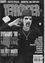 Terrorizer (UK)  #68 July 1999 magazine w/ Immotal & Emperor poster - $22.20