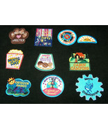 (10) Ten Mixed GIRL SCOUTS OFFICIAL BADGES Patches for Sash or Vest Jour... - $19.78