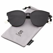 Sojos Fashion Round Sunglasses For Women Men Oversized Vintage Shades Sj... - $21.84