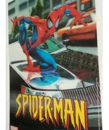 "Spiderman Poster Marvel Comics Neo 3D Lenticular 12"" X 18"" 2003 - Car Sc... - $25.48"