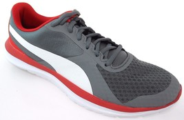 PUMA FLEX T1 MEN'S QUITE SHADE/WHITE TRAINING SHOES #36238604 - £42.65 GBP