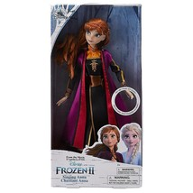 Disney Store Anna Singing Doll Frozen 2 11'' New with Box - $25.86