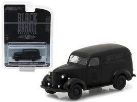 1939 Chevrolet Panel Van Black Bandit 1:64 Diecast Model Car by Greenlight - $14.27