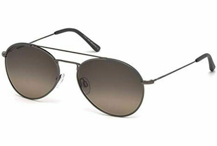 New Tod's TO 189/S Sunglasses 12F Ruthenium w/Brown Gradient 57-18-145MM