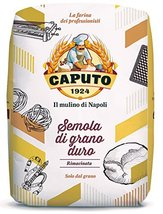 Caputo Semola Di Grano Duro Rimacinata Semolina Flour 1 kg Bag image 4