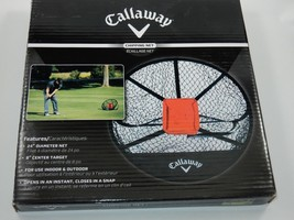 "Callaway 24"" Diameter Chipping Net Golf Practice Stroke Training Golfing   - $29.69"