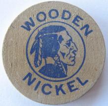 "Wooden Nickel From: ""Video World"" Sparks, Nevada - (sku#4983) - $8.50"