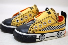 Converse All Star Chuck OX 728065F Runner Yellow Baby Toddler Shoes - $29.95