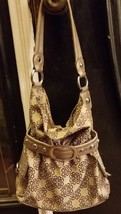 Kathy Van Zeeland purse.  Nice fabric purse with lots of jewelry hang on... - $10.88