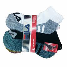 FILA Women's 6 Pack Low Cut Classic Sport Athletic Gym Moisture Control Socks image 5