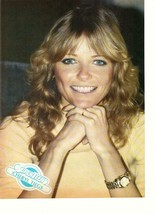 Cheryl Tiegs teen magazine pinup clipping 1970's Just Shoot Me Moonlighting - $3.50