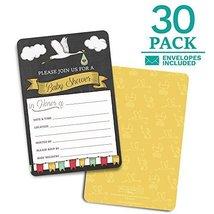 Baby Shower Invitations. 30 cards + envelopes. Shower Games. Boy or Girl... - $10.44
