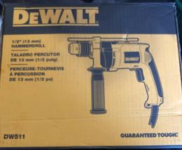 DEWALT 1/2 in. Variable Speed Reversible Hammer Drill-DW511 - $89.09