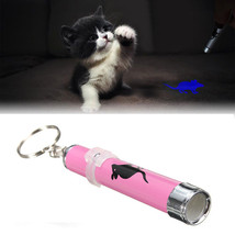 Cat Dog Pet Toys LED Laser Pointer Light Pen w/Bright Mouse Animation Fl... - $3.49