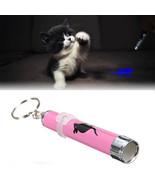 Cat Dog Pet Toys LED Laser Pointer Light Pen w/Bright Mouse Animation Fl... - $3.49