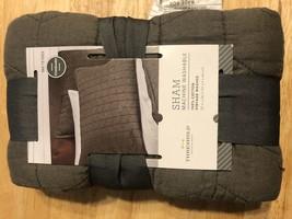 Gray Vintage Washed Solid Sham (Standard) - Threshold™ - $14.25