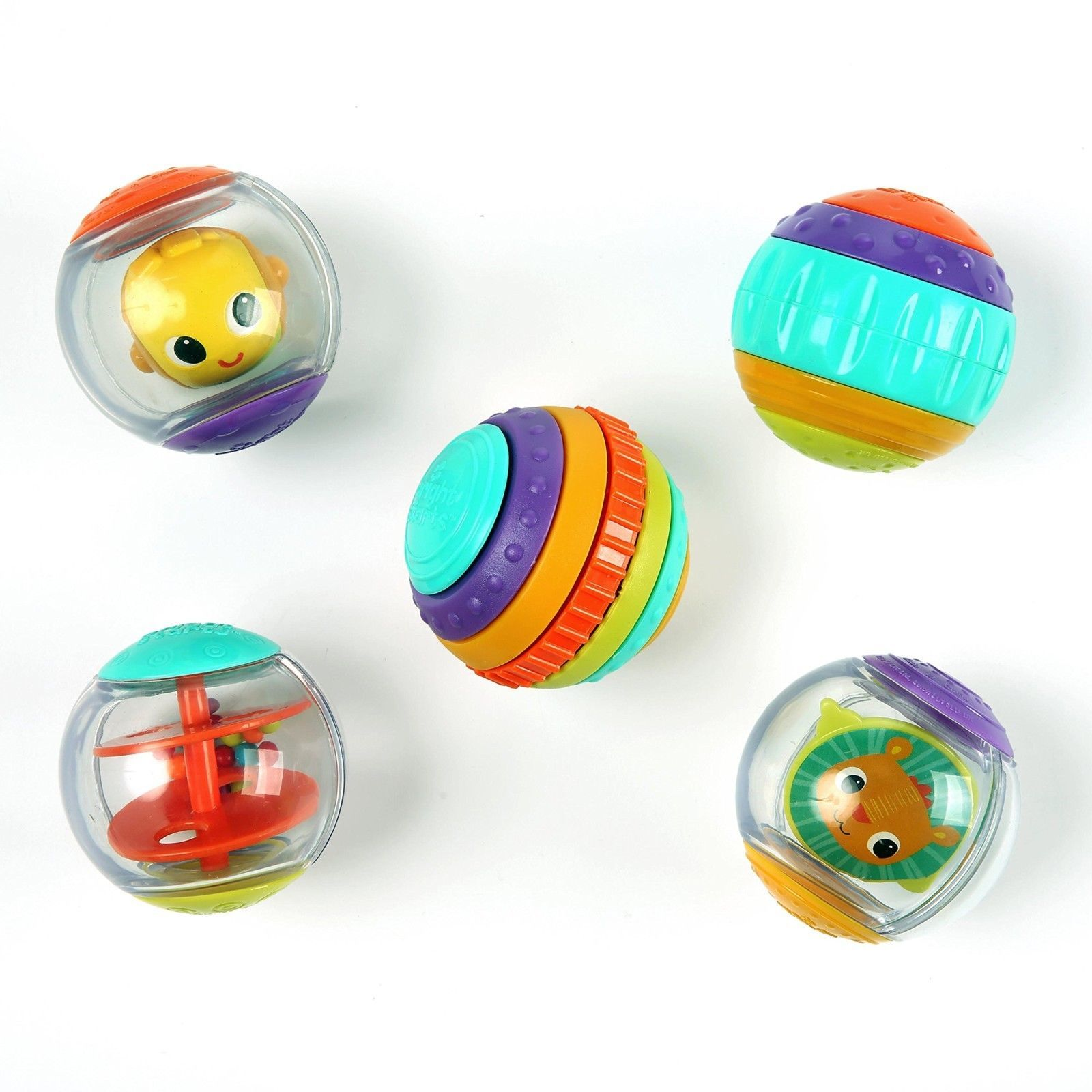 Primary image for Bright Starts Shake Spin Activity Balls Baby Toy Fun Play 6 Months +