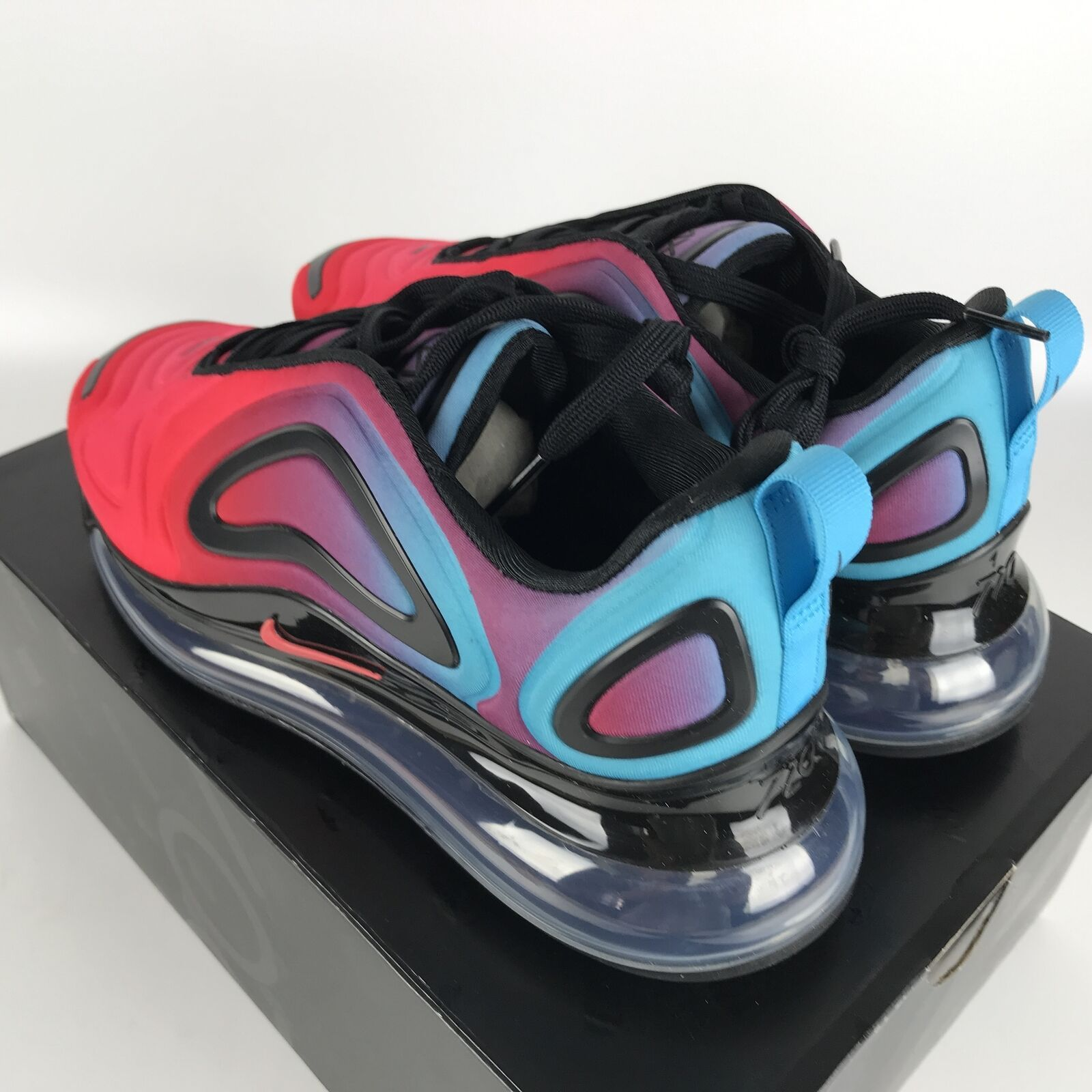 Nike Air Max 720 Running Shoes 8 Gradient Red/Blue CJ0766 600 image 4