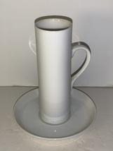 Vintage Lagardo Tackett Espresso Cup & Saucer, Schmid Demitasse Cup and Saucer - $20.00