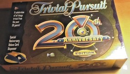 TRIVIAL PURSUIT 20TH ANNIVERSARY EDITION COMPLETE EUC NEVER PLAYED  - $118.79