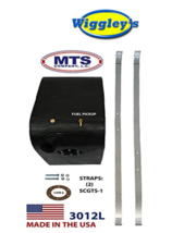 PLASTIC FUEL TANK MTS 3012L FITS 61-71 INTERNATIONAL HARVESTER SCOUT LEFT SIDE image 1