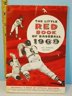 Primary image for 1969 The Little Red Book of Baseball 44th Ed. Pete Rose & Roy Campanella