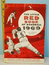 1969 The Little Red Book of Baseball 44th Ed. Pete Rose & Roy Campanella - $34.65