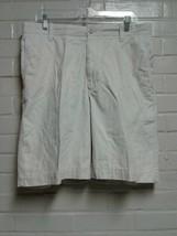 Men's Izod Khaki Size 34W Casual Shorts Brand New - $7.47