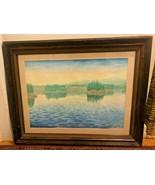 """MOUNTAIN LAKE"" BY JACK DE COUDRES LEONARD - $349.95"