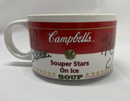 Campbell's Soup Mug Bowl Olympic Souper Stars on Ice~ Kwan Bobek Lipinkski 1998 - $10.40
