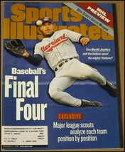 10/12/1998 Sports Illustrated David Justice Cleveland Indians Padres NHL... - $9.99