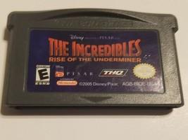 The Incredibles Gameboy Advance Game GBA nintendo Disney Pixar - $3.99