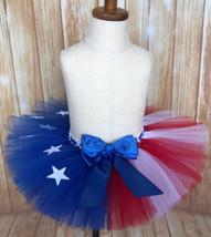 American Flag Tutu, Patriotic Girls Tutu Skirt - $30.00+