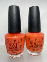 (2) OPI Can't Afjord Not To Nail Lacquer Nail Polish Full Size - $5.93