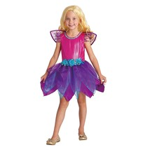 Twilight Fairy Costume Girl Small Halloween Totally Ghoul Pink Purple FR... - $16.78