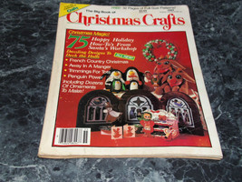 The Big Book of Christmas Crafts Magazine December 1985 Anngel Gift tags - $2.99